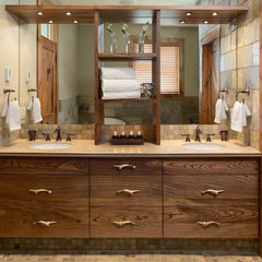 traditional bathroom by Harvest House Craftsmen