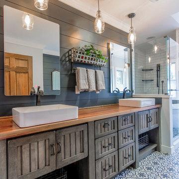 Rustic Bathroom in Goodrich, MI