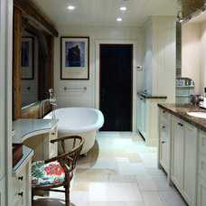 Rustic Bathroom by JLF & Associates, Inc.