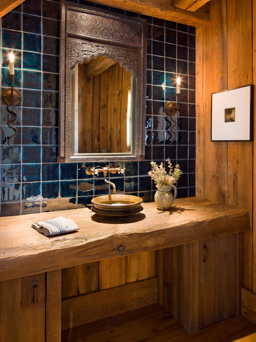 Rustic Wood Countertop Home Design Ideas Pictures Remodel And Decor