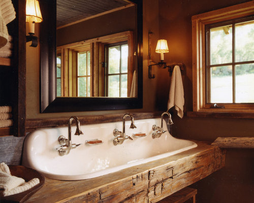 Saveemail Rustic Bathroom