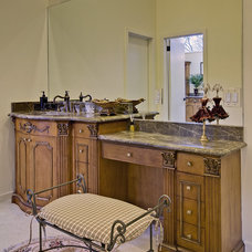 Rustic Bathroom by The Furniture Guild