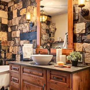 Ideas para cuartos de baño | Fotos de cuartos de baño rústicos con ...