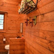 Rustic Bathroom by Julia Williams, ASID