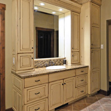 Traditional Bathroom by The Artisan Shop, Inc.