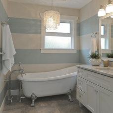 Eclectic Bathroom by La Mode Design
