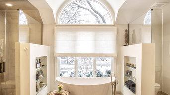 Rustic, Contemporary Master Bathroom