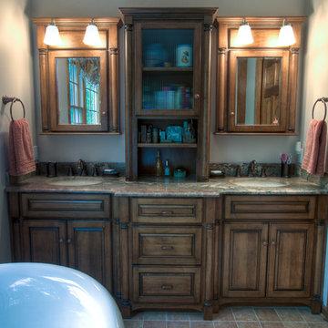 Rustic Country Master Bathroom