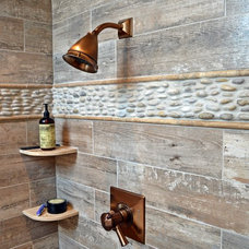 Rustic Bathroom by True Form Design and Building Inc.