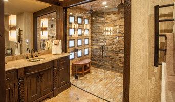 Rustic Elegance Master Bath