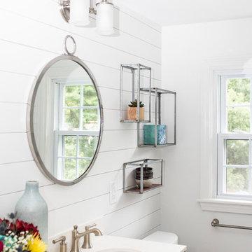 Rustic Farmhouse Master Bathroom