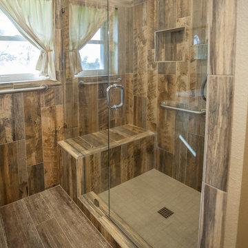 Rustic HIS Bathroom