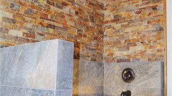 Rustic/Industrial Bathroom for Cabin
