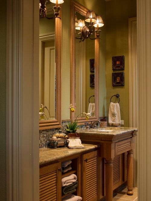 Rustic lodge home design ideas pictures remodel and decor for Bathroom cabinets townsville