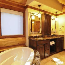Traditional Bathroom by Austin Bluffs Lighting