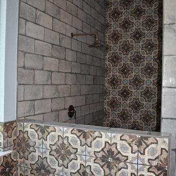 Rustic Master bath remodel
