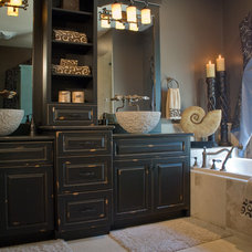Eclectic Bathroom by Savvy Surrounding Style