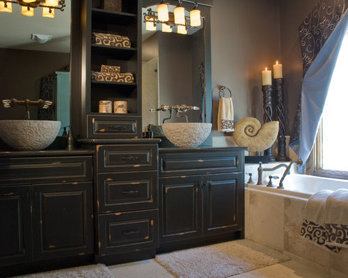 Plain Rustic Master Bathrooms Savvy Surrounding Style 4 Reviews Bath  3358883862 For ...