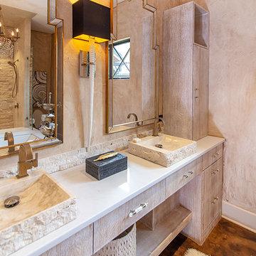 Rustic - Modern Hunting Lodge Master Bathroom