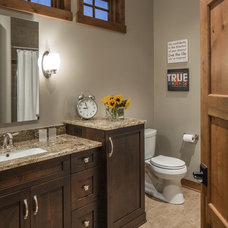 Transitional Bathroom by Core Concepts Cabinets & Design