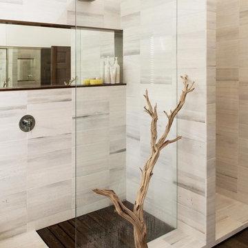 Rustic Modern Master Bath