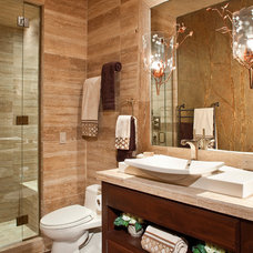 Traditional Bathroom by DESIGN ONE INTERIORS