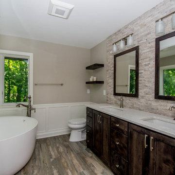 Rustic Retreat Master Bath