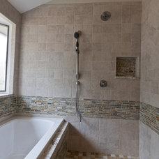 Rustic Bathroom by Simply Baths & Showcase Kitchens