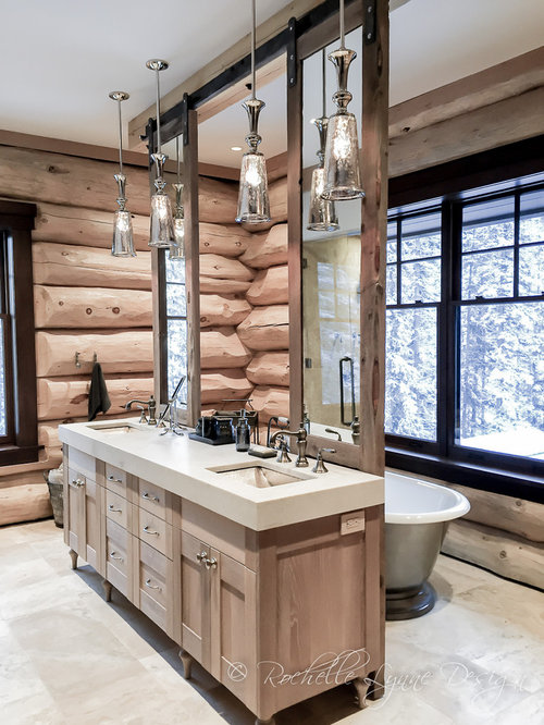 Rustic Calgary Bathroom Design Ideas Renovations Photos