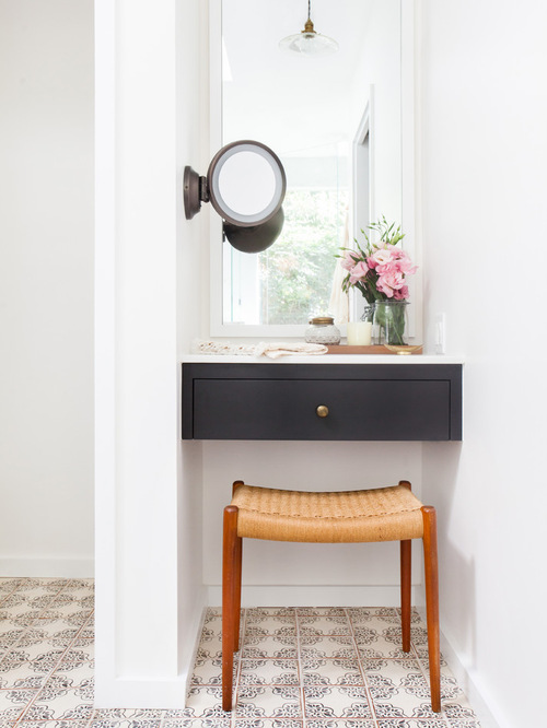 Makeup Vanity In Closet | Houzz