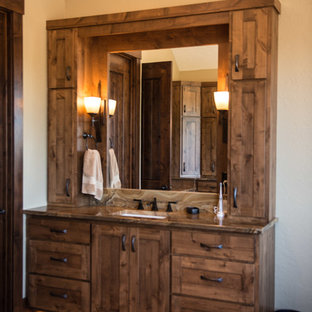 Rustic Royal Master Bath