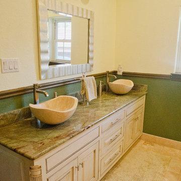Rustic Style Guest Bathroom
