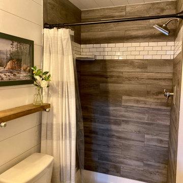 Rustic Tile Shower