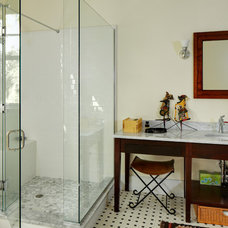 Contemporary Bathroom by Allison Ramsey Architects