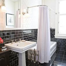 Traditional Bathroom by McIntyre Bills Corporation