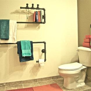 Inspiration for an industrial bathroom in Nashville.