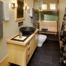 Asian Bathroom by Daedal Woodworking