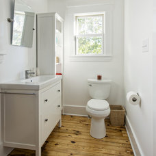 Traditional Bathroom by Rock Paper Hammer