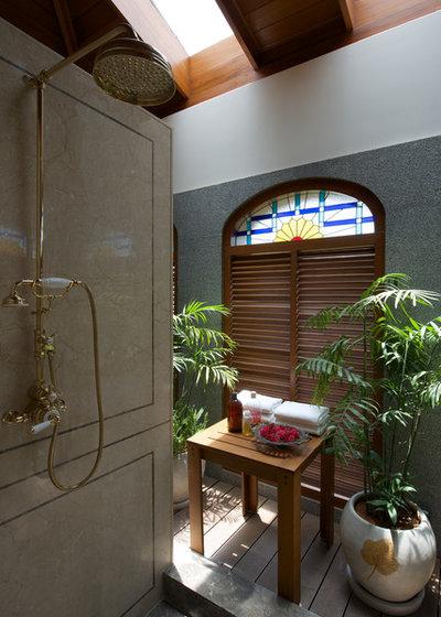 Contemporary Bathroom by Aamir and Hameeda Associates