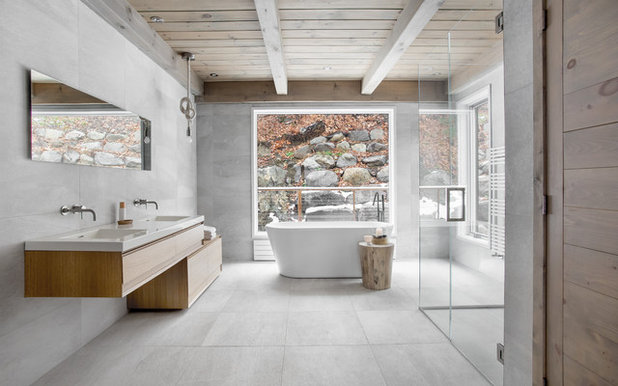 Contemporary Bathroom by catlin stothers design