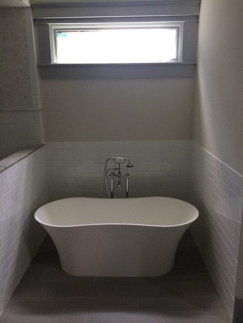 Wet room design ideas remodels photos with vinyl floors for Wet room vinyl flooring