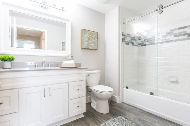 Transitional Bathroom by DreamHome Staging & ReDesign