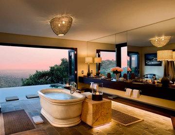 Safari Lodge In Kenya Bathroom