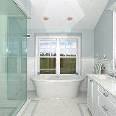 Beach Style Bathroom by Susanne Kelley Design