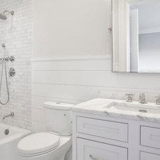 Transitional Bathroom by EB Designs