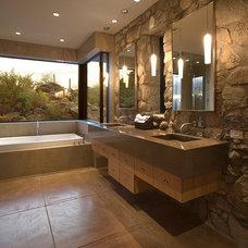 Contemporary Bathroom by Mark Alan Development, LLC