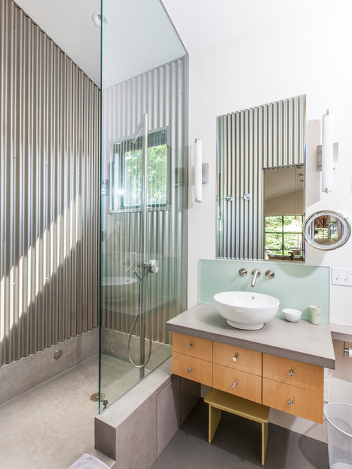 Locker Room Style Shower Home Design Ideas, Pictures, Remodel and ...