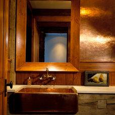 Eclectic Bathroom by Mojo Stumer Associates, pc.
