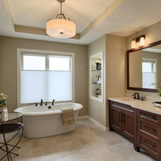 Traditional Bathroom by Albi Homes