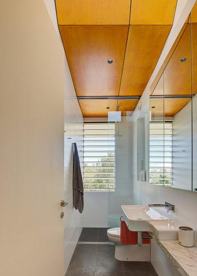 Contemporaneo Stanza da Bagno by Sam Crawford Architects